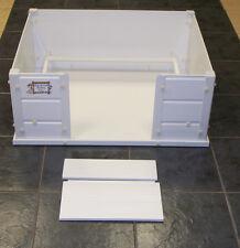 "Dog Puppy Whelping Box Pen Box Plastic Large 36"" x 36"" x 12.5"" Warwick Deluxe"