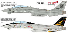 CAM PRO DECAL, 1/72 SCALE,  P72-027, VF-41 BLACK ACES F-14A, 2000