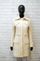Cappotto Donna Patrizia Pepe Taglia 40 Giacca in Lana Giaccone Giubbotto Jacket