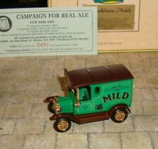 LLEDO - 1920 MODEL T FORD VAN - CAMRA CAMPAIGN FOR REAL ALE  -CASTLEHOUSE LTD ED