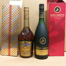 Remy Martin Fine Champagne + Martell Cognac 2 Flaschen