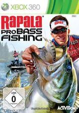 Microsoft XBOX 360 Jeu-Rapala Pro Bass Fishing uniquement logiciel avec neuf dans sa boîte