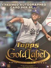 2016 Topps Gold Label Baseball Hobby Box - Factory Sealed!