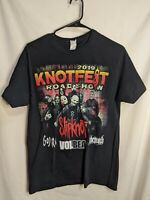 Slipknot 2019 Knotfest Roadshow Volbeat Gojira Behemoth Tour Shirt Mens M black
