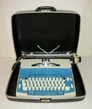 Vintage 1970s JC Penney Concord 12 Blue Electric Typewriter - Works!