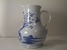 Oud Delft Wash Stand Pitcher for Colonial Williamsburg blue white Chinoiserie