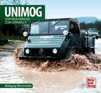 Unimog Vom Boehringer zum Unimog-S Schrader Typen Motor Modelle Chronik Buch