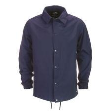 Dickies Torrance Men's Coach Jacket Water Repellent Windbreaker Coat Navy Blue Medium