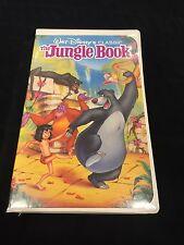 The Jungle Book (VHS, 1991) - Walt Disney's Black Diamond Classics