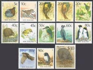 New Zealand 919-930,921A,MNH. Michel 1048-1055,1070,1182-1183,1283.Birds.1988-93
