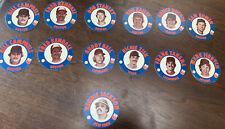(13) 1978 Papa Gino's Promotional Baseball Cards (discs) Reggie - Lot