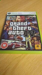 Grand Theft Auto IV 4 (Microsoft Xbox 360)