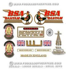 1956-63: D1 - BSA Bantam Decals - Full Set