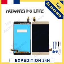 VITRE TACTILE+ ECRAN LCD PRET-A-MONTER POUR HUAWEI P8 LITE 2016 OR +OUTILS/COLLE