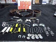 Jeep CJ Laredo, CJ master brake kit, Jeep CJ brakes, Jeep CJ brake shoes
