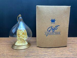 Avon Gift Collection Classic Angel Glass Globe Ornament Figurine