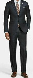 Brooks Brothers Milano Windowpane 1818 Suit,