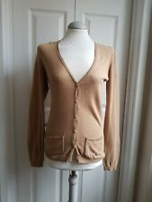 NEXT Light Brown Knitted Cardigan Size 8