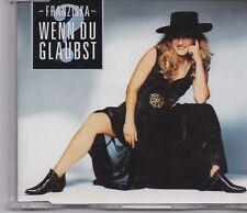 Franziska-Wenn Du Glaubst cd maxi single