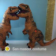 INFLATABLE T-REX ADULT Costume Jurassic World Park Blowup Dinosaur