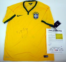 Neymar Jr Brazil Brasil World Cup Soccer Signed Autograph Jersey PSA/DNA COA
