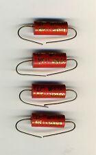4 CONDENSATEURS CHI-DA / MASTER AUDIO 0,1 µF - MKP 630 V - 5%