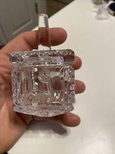 Waterford Crystal Dreidel - Judaic Hanukkah - Made in Ireland - Beautiful !!!