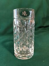 Multiples Ralph Lauren ASTON Highball Heavy Crystal Glasses Germany
