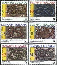 Bulgarien 3784-3789 (kompl.Ausg.) postfrisch 1989 Schlangen