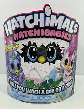 Hatchimals, HatchiBabies Hatching Egg With Interactive Pet Baby