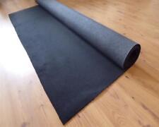 Teppich Meterware Autoteppich feiner Velour Stoff anthrazit 143cm x 400 Rest