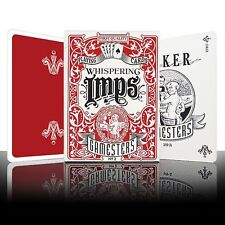 Gamesters Playing Cards red poker juego de naipes