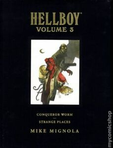 Hellboy HC Library Edition #3-1ST NM 2009 Stock Image