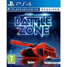 Battlezone (PS4 PSVR)  BRAND NEW AND SEALED - IN STOCK - QUICK DISPATCH
