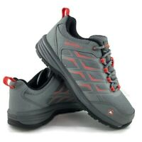 Merrell Women Windoc Work Safety Shoes Gray Lace Up Steel Toe Mesh J05156 Size 9