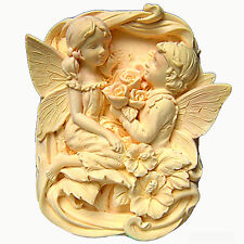 EGBHOUSE, 2D Silicone Soap/plaster Mold, SILICONE MOLD – Fairy Lovers Proposal