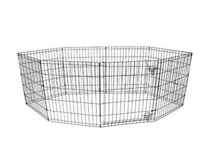 """Vibrant Life 24""""H Indoor & Outdoor Pet Exercise Play Pen"""