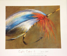 FLY FISHING ART PRINT Captive Colors II by James Elliot 12x14 Fish Hook Poster 2