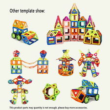 Puzzle Magnetic Construction Educational Building ChildrenToys Blocks 139pcs