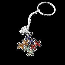 Autism Key chain Autism keychain Autism awareness jewelry Autism speaks present
