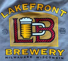 Lakefront Brewery Men'S Size Medium Advertising Shirt ~ Milwaukee Wi. ~