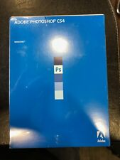 Adobe Photoshop CS4 for Windows Sealed New in Box 2008 Factory Software W Serial