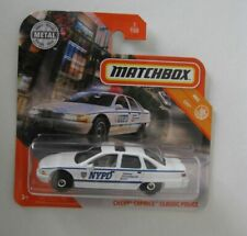 1992 Chevrolet Caprice NYPD Police Car *** Matchbox MBX 1:64 OVP