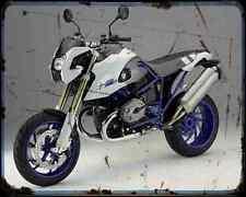 Bmw Hp2 Megamoto 07 3 A4 Metal Sign Motorbike Vintage Aged