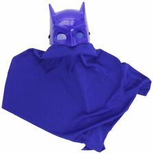 Child Batman Blue Brave and Bold CAPE AND MASK Set