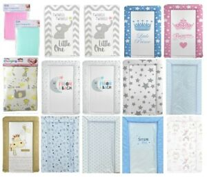 Baby Nursery Waterproof Soft Padded Changing Mats Easy to Clean - Various Design