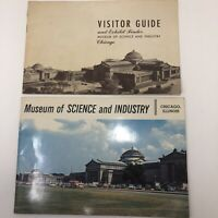 Vintage Chicago Museum of Science and Industry Visitor Guide & Exhibit Finder