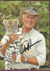 "Jack Hanna, ""Jungle Jack"", Signed Photo, COA, UACC RD 036"