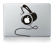 Sticker Macbook 13 Casque DJ Head phone Apple Sticker Decal Aufkleber Kopfhörer