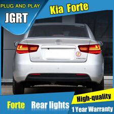 Dynamic turn Signal Rear Lights Assembly For Kia Forte 2010-2013 LED Tail Lamps